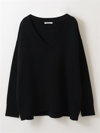 V neck Smooth Knit