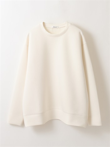 Double knit sweat shirt